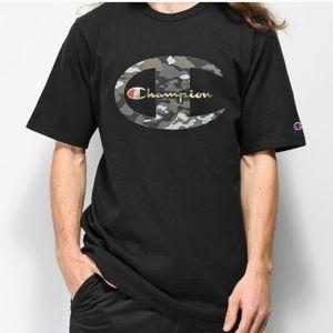 Champion Heritage Camoflauge Retro Tee Shirt